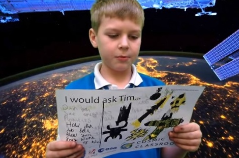 Tim Peake to call Tempest Class from the International Space Station!