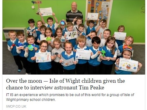 IW County Press coverage of our visit to the World Museum