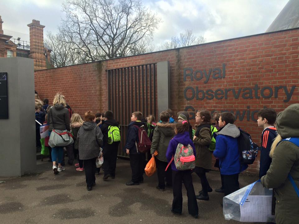 Years 3 and 4 Trip to Royal Observatory
