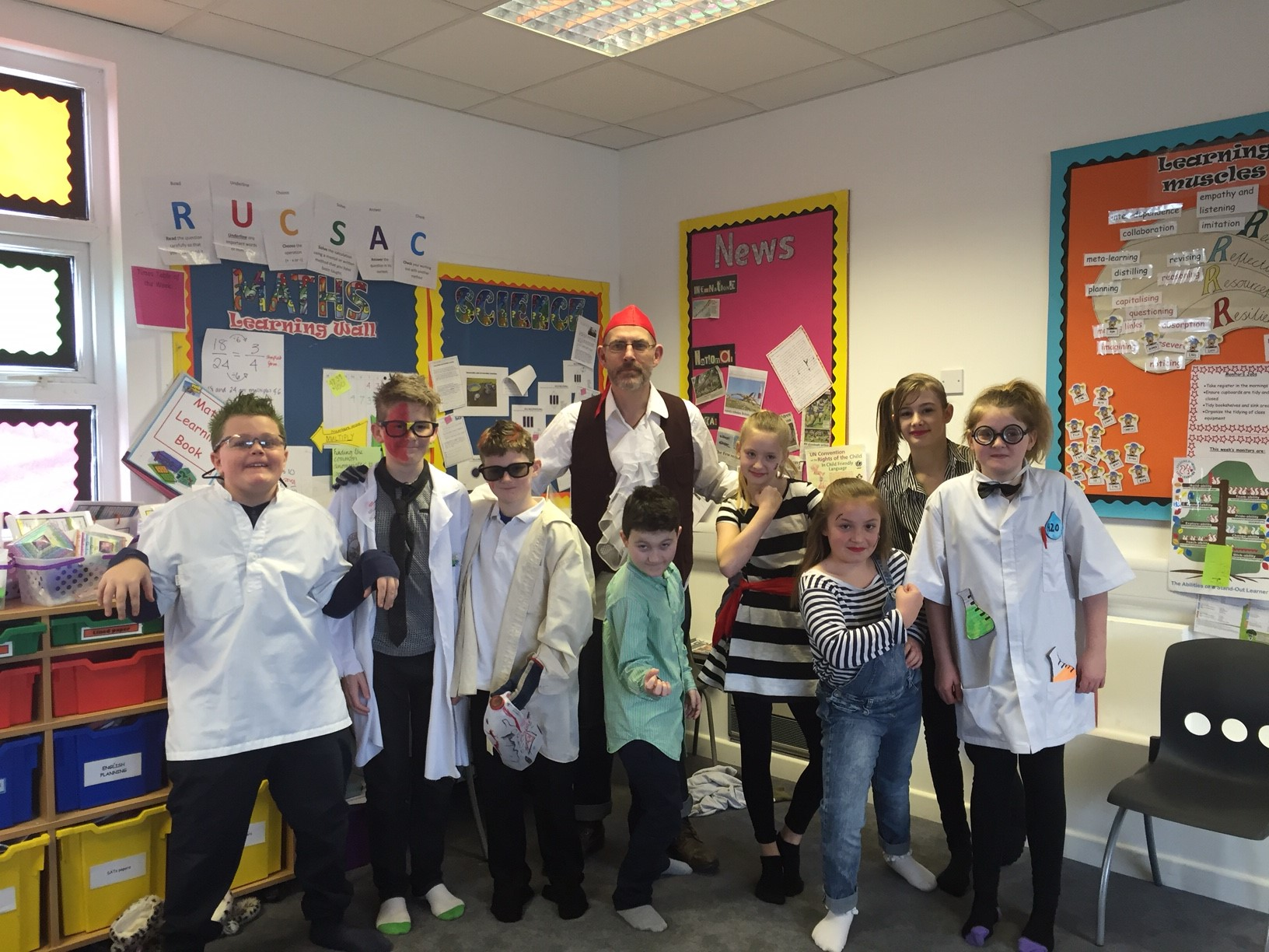 Pirates and Mad Scientists Day