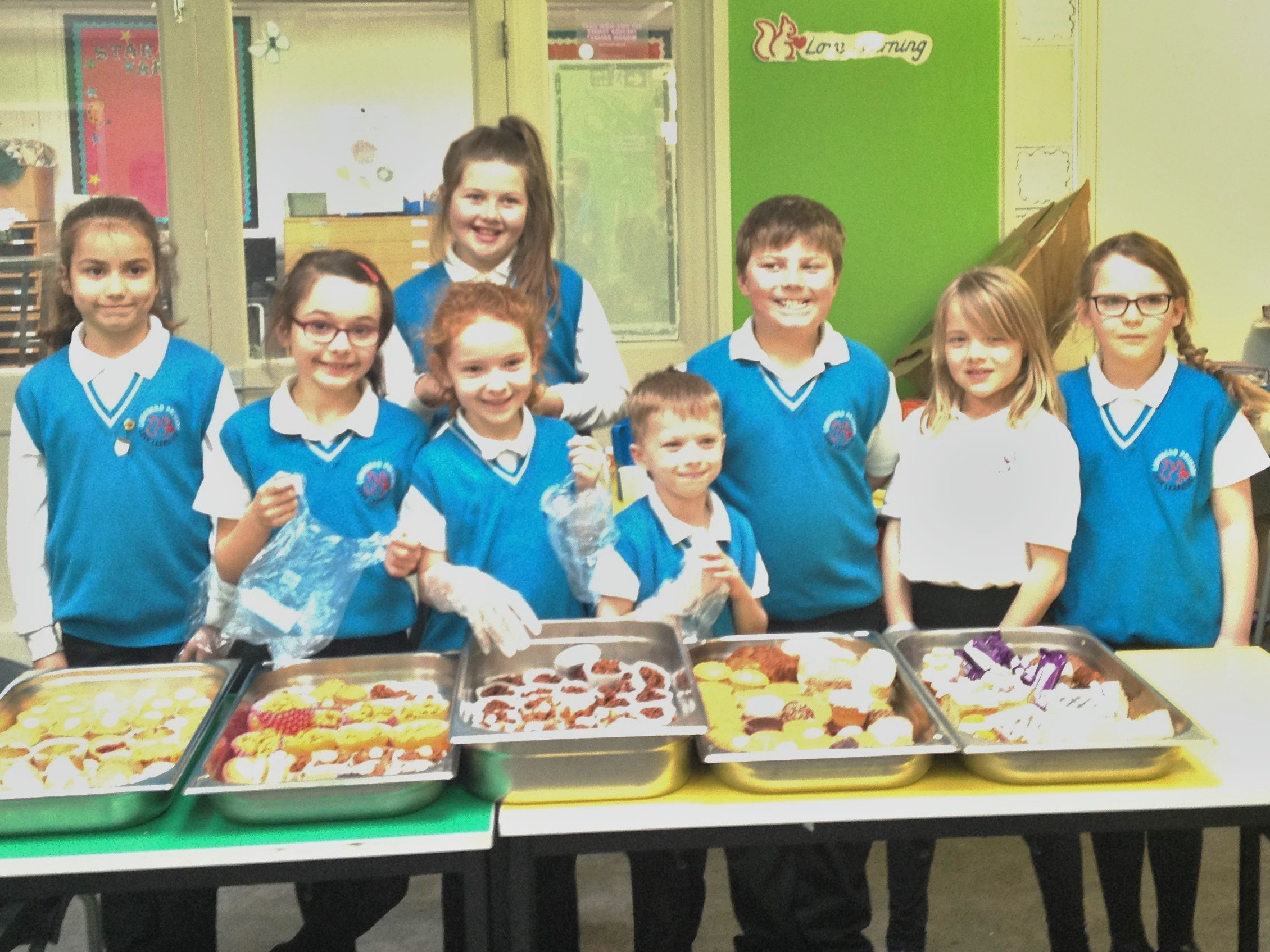 Anti-Bullying Ambassador's Cake Sale