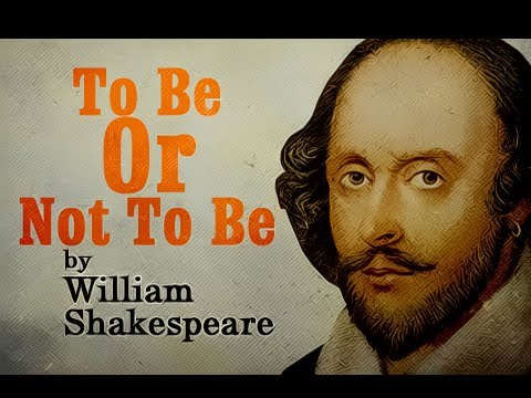 Summer Term Topic: 'To Be Or Not To Be, That Is The Question'