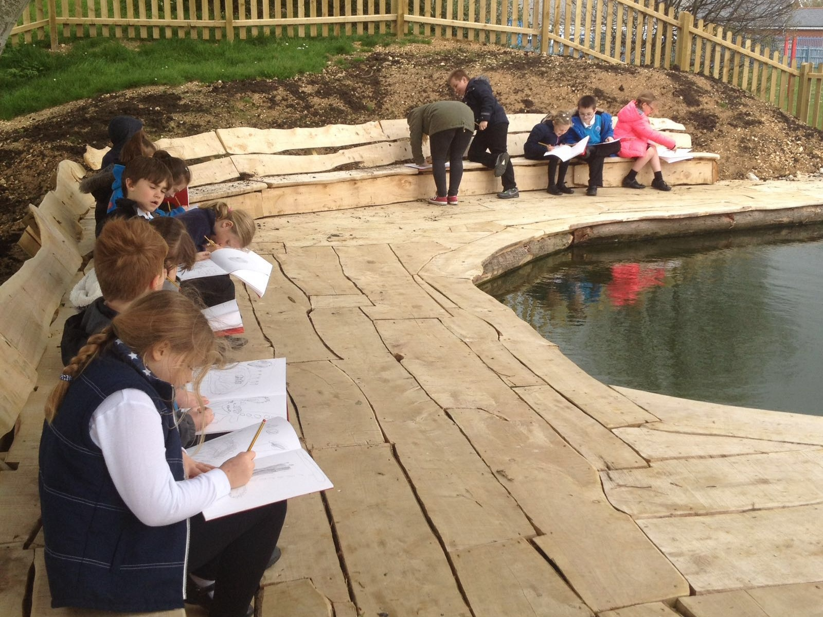 Hamlet class outdoor learning
