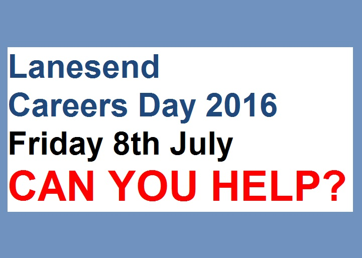 We need you! Lanesend Careers Day 2016