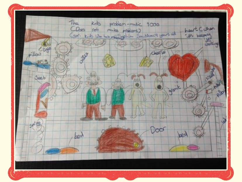 Year 4 win Wallace and Gromit's May's 'Creation of the Month'