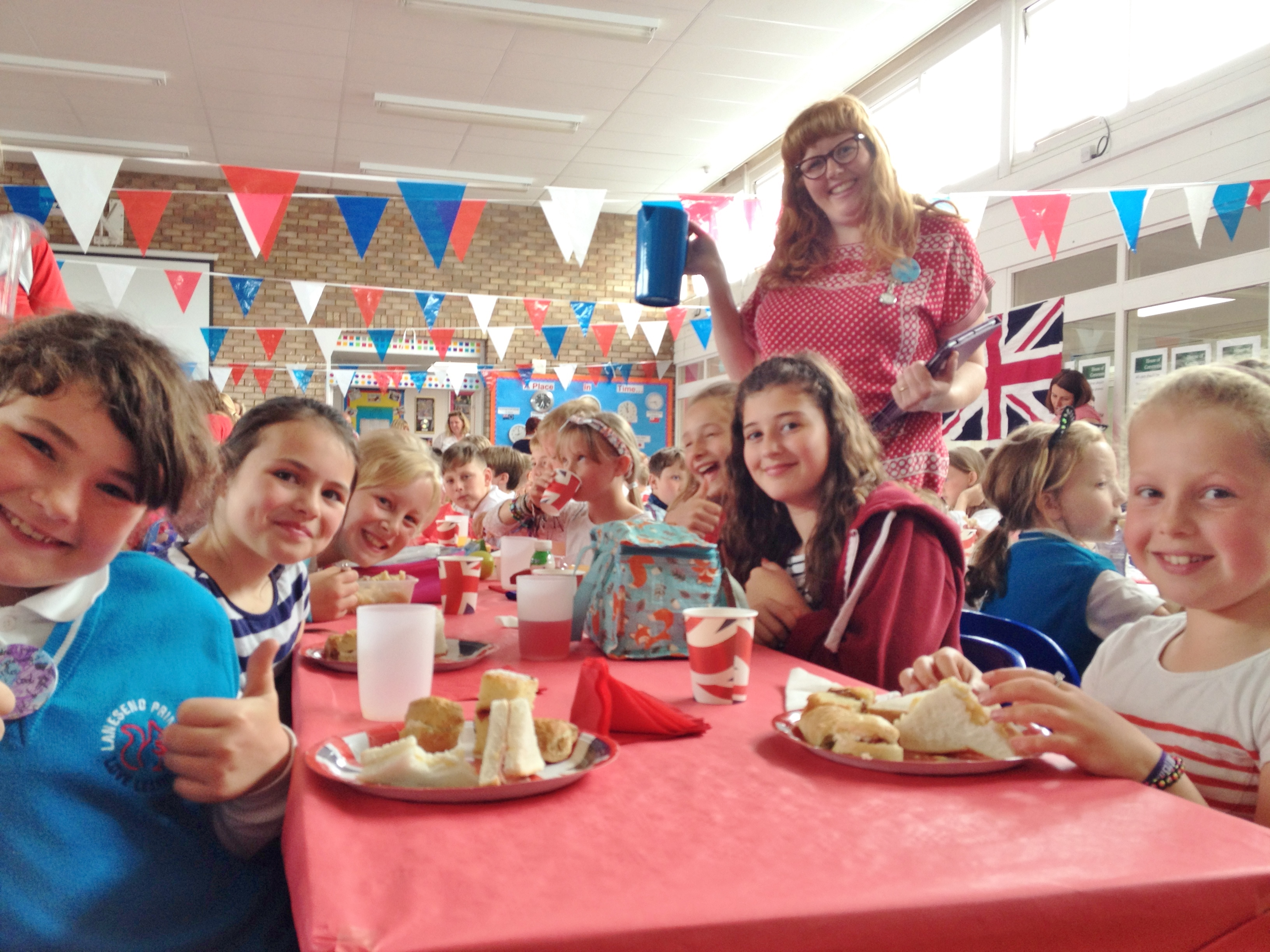 Check out our gallery for our fabulous 'royal tea' lunch!