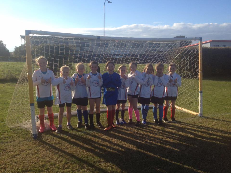 Well done to the U11 Girls Football Team