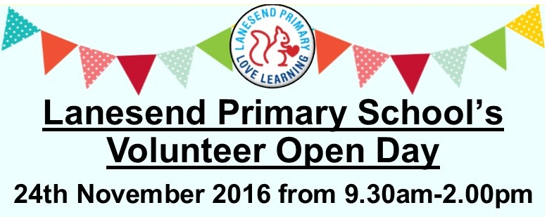 Volunteer Open Day - 24th November 2016