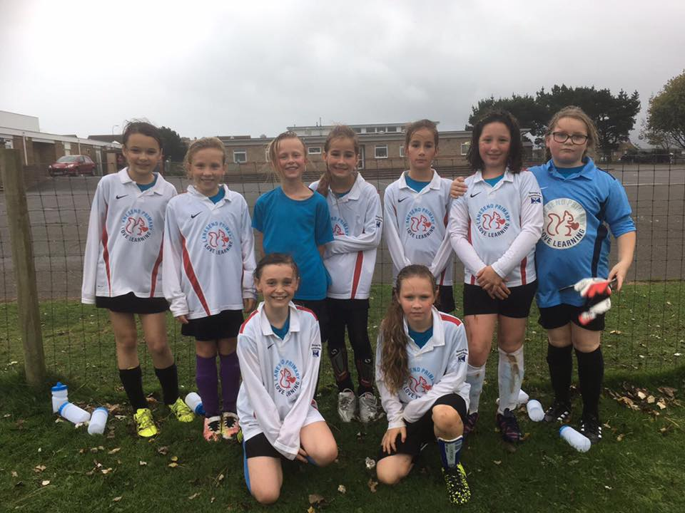 Under 11s Girls Team!
