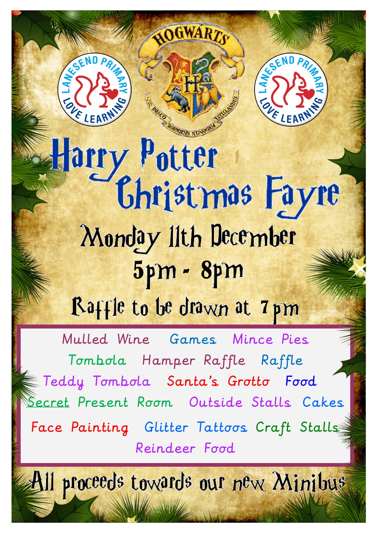 Harry Potter Themed Christmas Fayre 2017