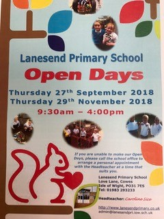 Lanesend Open Days 2018
