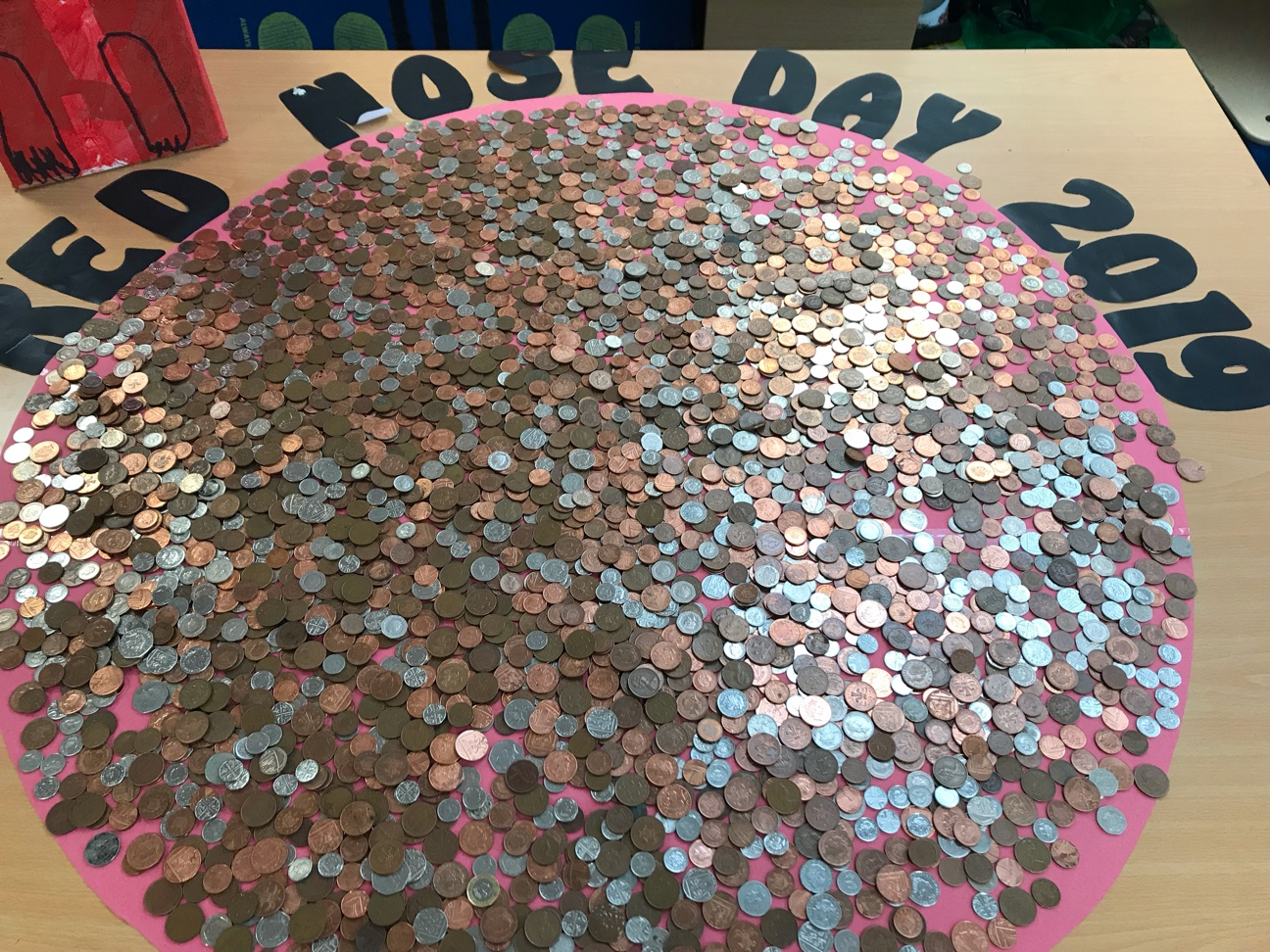 Red Nose Day! Counting the Money!