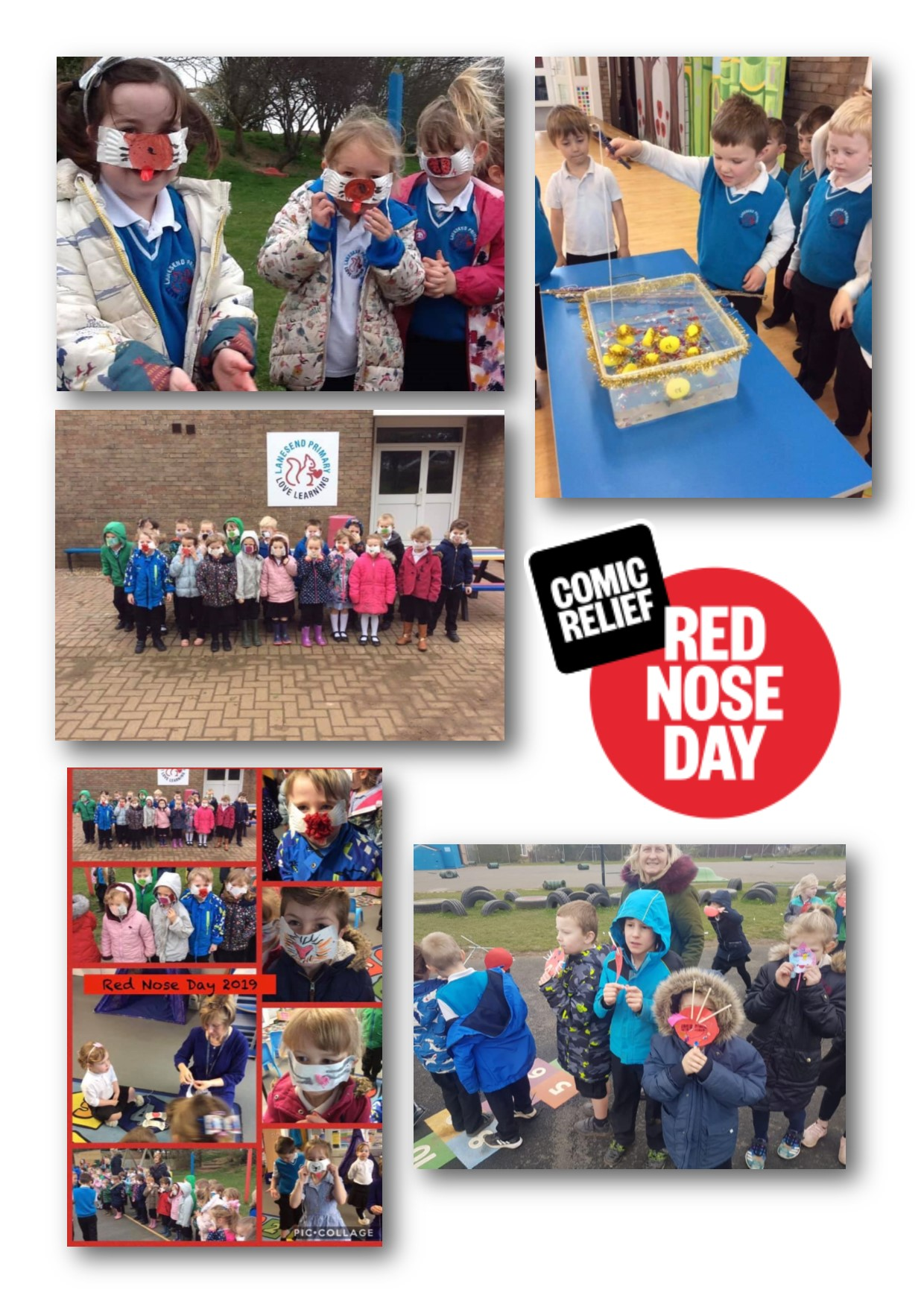 More fun from Red Nose Day!