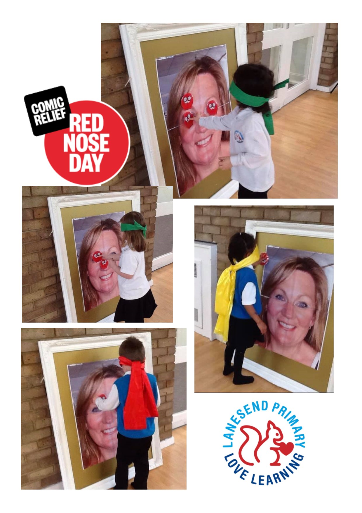 Pin the Nose on Mrs Sice!