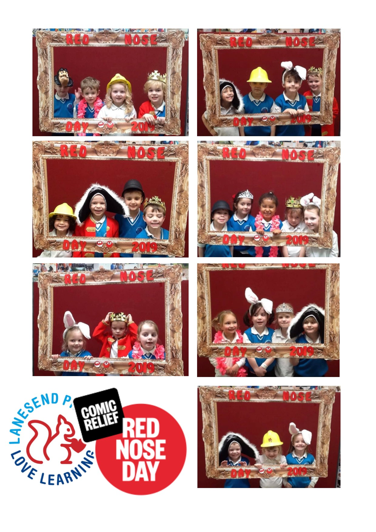 Red Nose Day Photo Booth