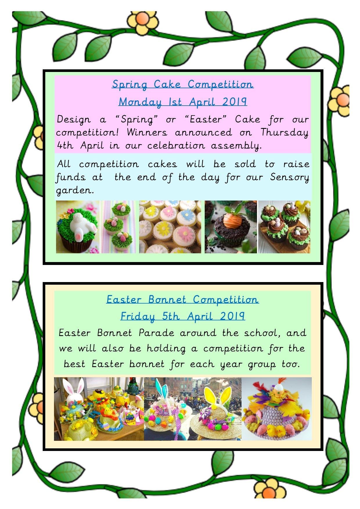 Exciting Easter Competitions!
