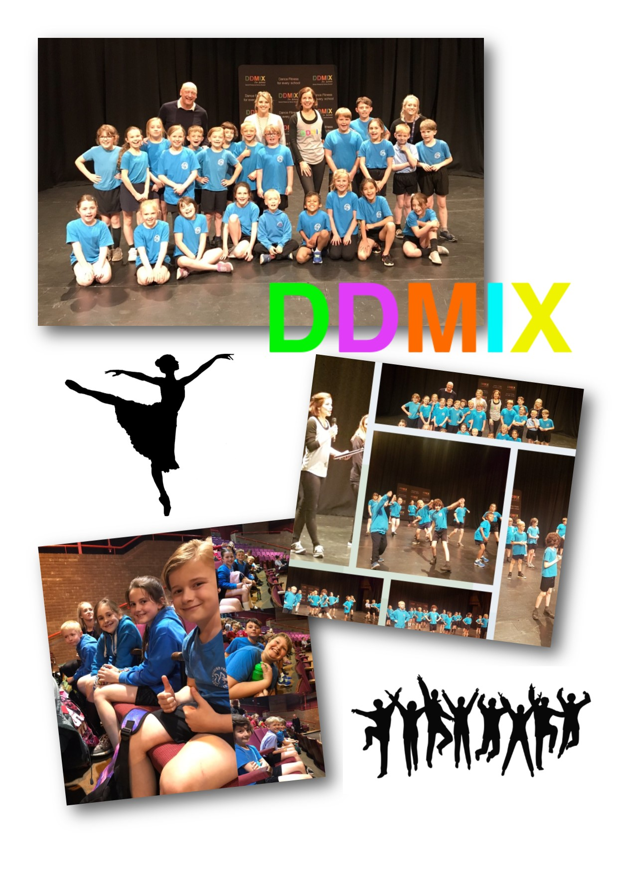 Visit to Medina Theatre for DDMIX with Darcy Bussell