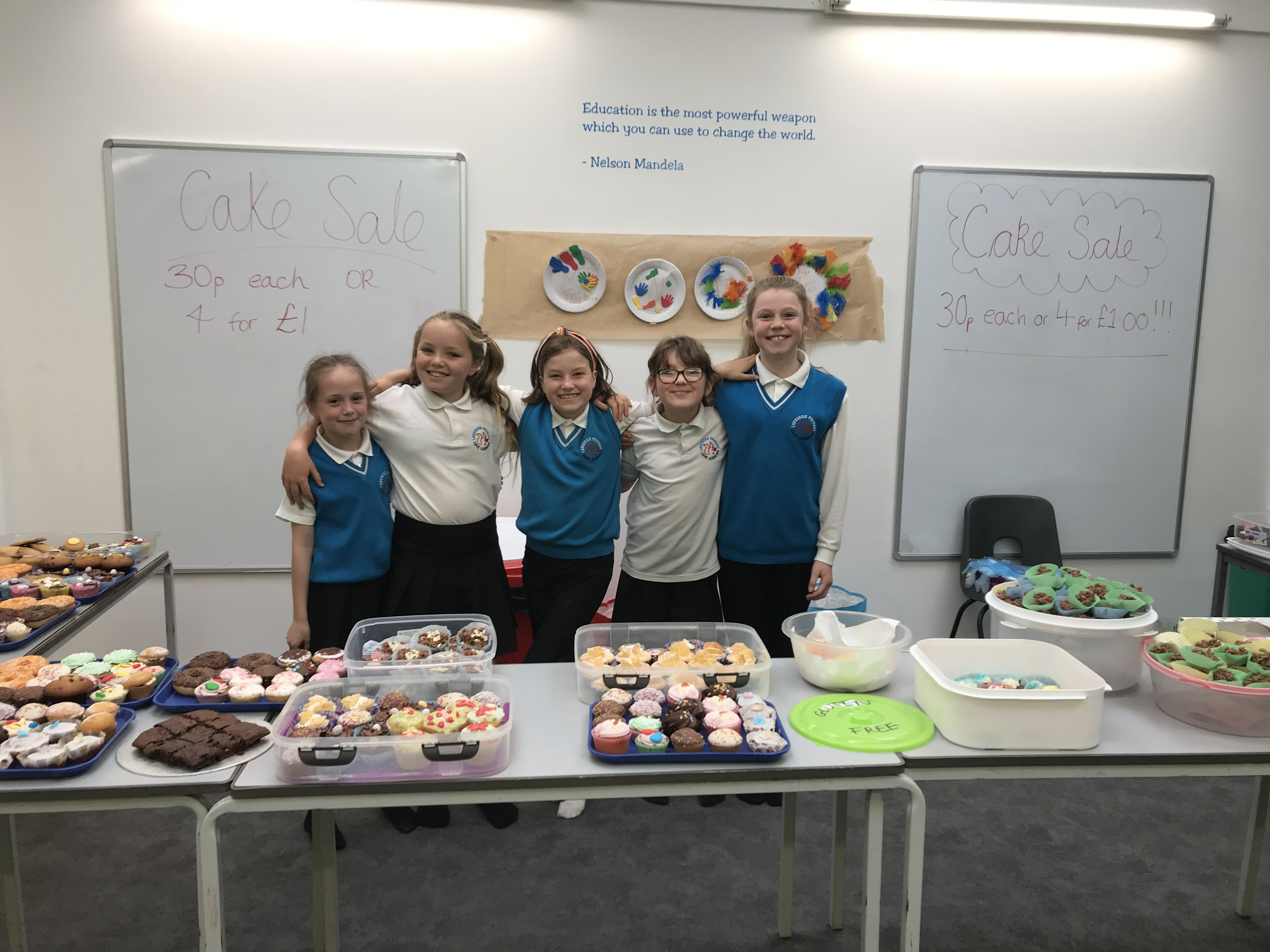 Cake Sale raising money for Mountbatten and MND society
