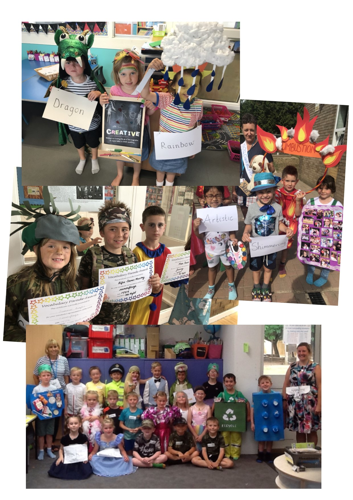Vocabulary Parade 2019