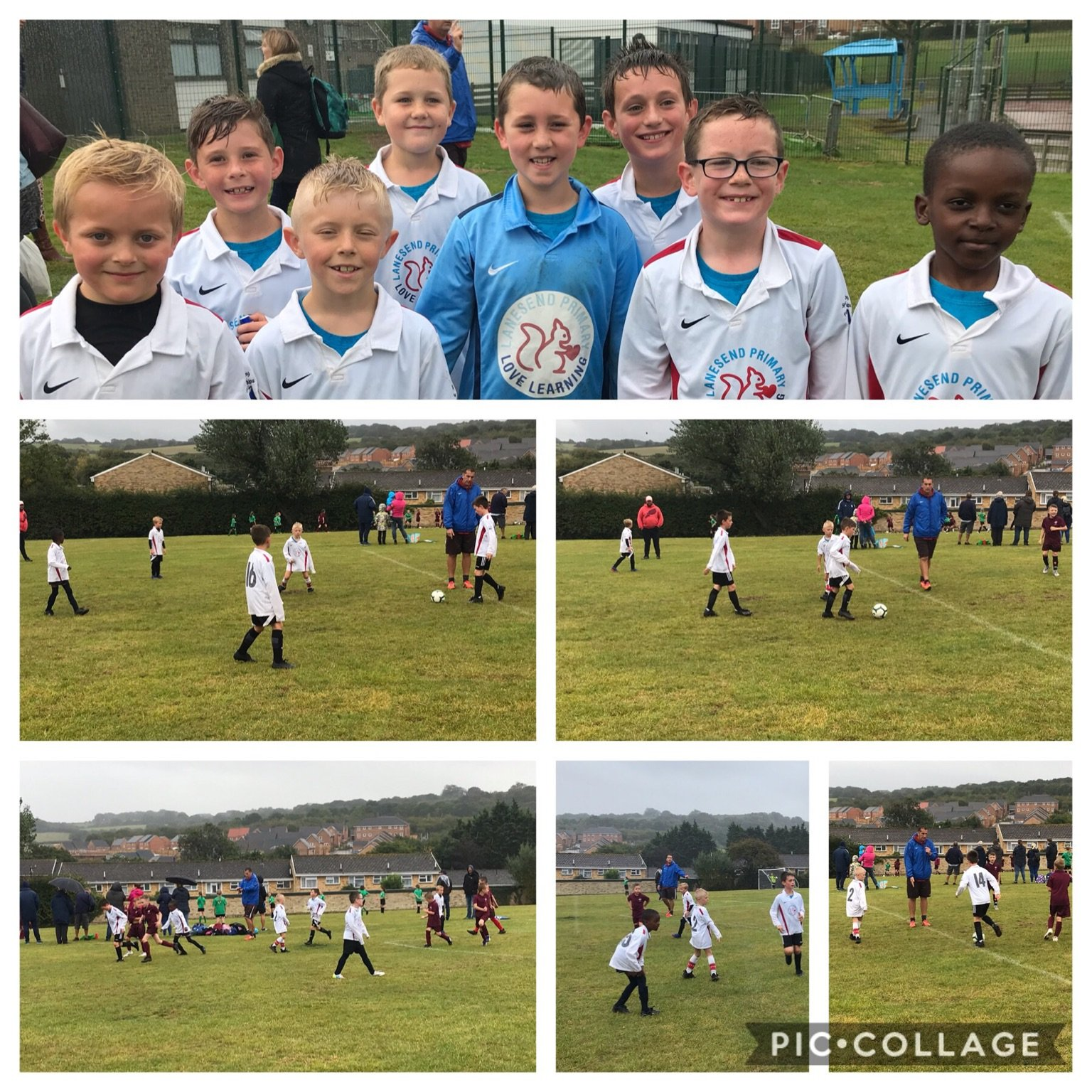 Year 3&4 Football team debut.