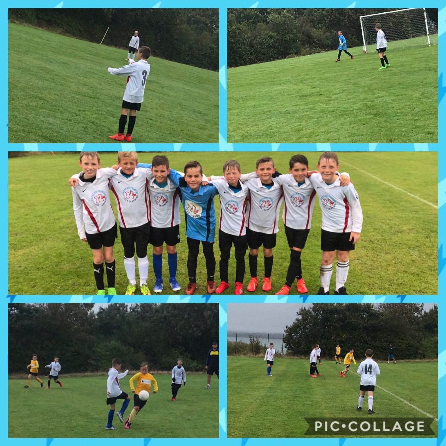 07.10.19 Under 10's Football win against Gurnard.