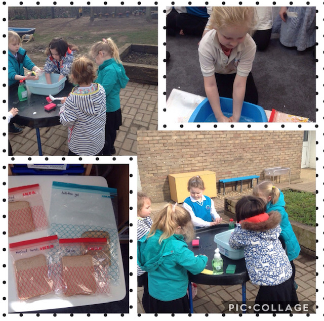 Year 1 hand washing